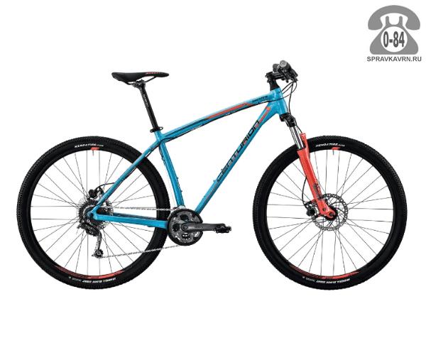 "Велосипед Центурион (Centurion) Backfire Pro 100.27 (2017) размер рамы 19.5"" синий"
