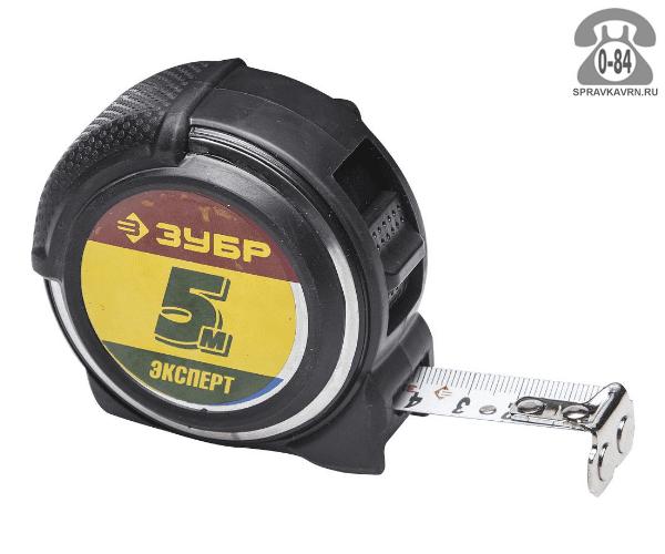 Измерительная рулетка Зубр Эксперт 34053-05-19 5 м