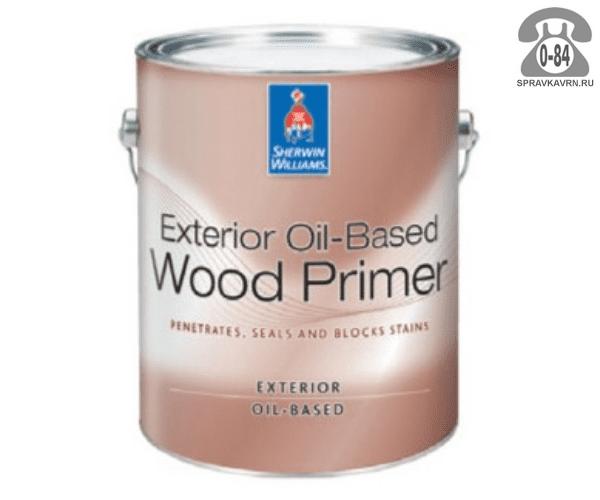 Грунтовка Exterior Oil-Based Wood Primer