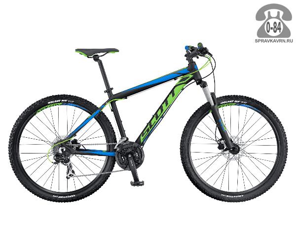 "Велосипед Скотт (Scott) Aspect 960 (2016), рама 18.5"" размер рамы 18.5"" черный"