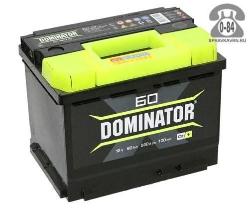 АКБ автомобильная Dominator 6СТ-60