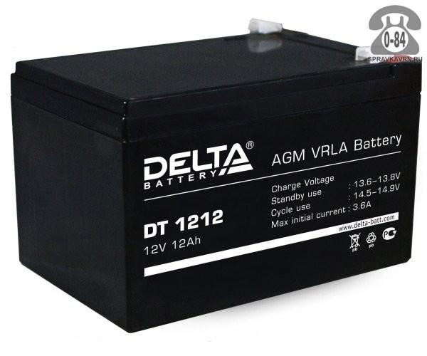 Аккумулятор для источника бесперебойного питания Дельта (Delta) DT 1212 AGM