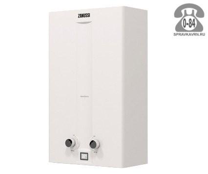 Газовая колонка Занусси (Zanussi) GWH 10 Fonte 18.5 кВт 10л/мин открытая камера