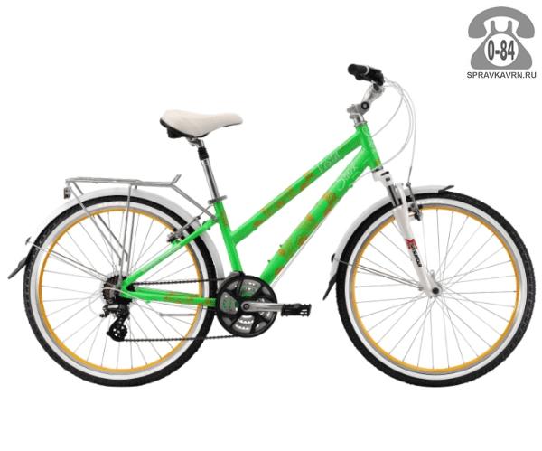 """Велосипед Старк (Stark) Vesta 26.3 V (2017) размер рамы 16.5"""" зеленый"""