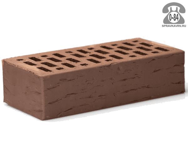 Кирпич лицевой Braer Front Brick М150-175 коричневый