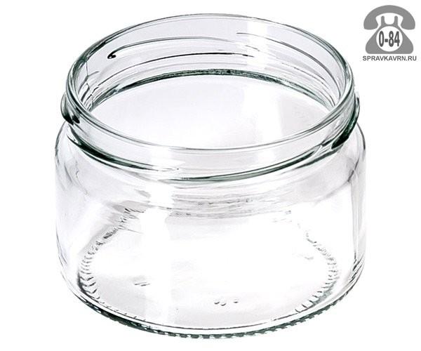 Банка стеклянная Твист-82 стандартная 0.2 л