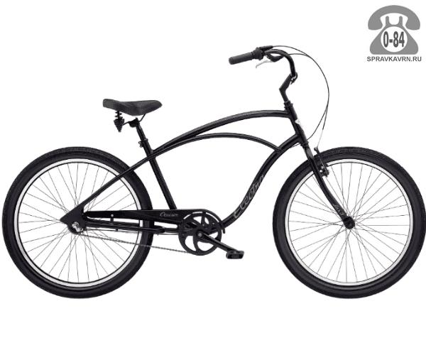 Велосипед Электра (Electra) Cruiser Lux 3i Mens (2016) черный