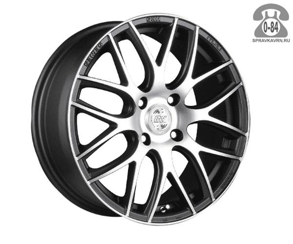 """Диск РВ (Racing Wheels) H-159 15"""" ширина 6.5"""" крепежных отверстий 4 диаметр расположения отверстий 114.3 мм вылет колеса (ET) 45 мм диаметр центрального отверстия 73.1 мм"""