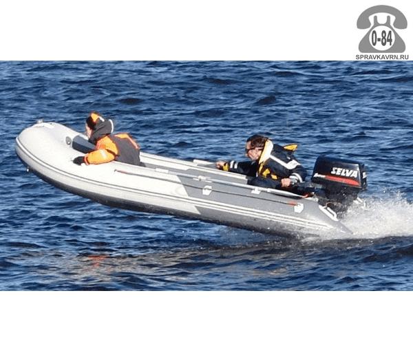 Лодка надувная Баджер (Badger) Fishing Line 390 W