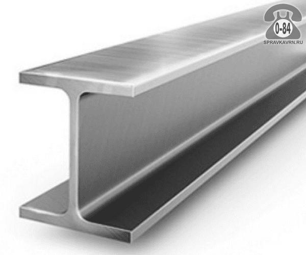 Балка металлическая двутавровая стальная 50Б2