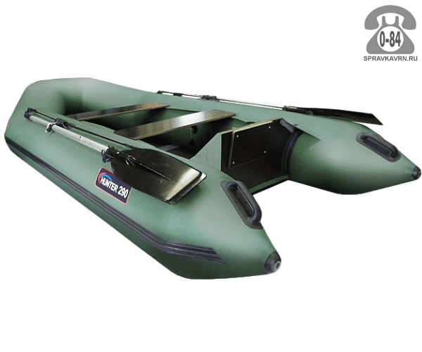 Лодка надувная Hunterboat Хантер 290 Р, зеленый 290062