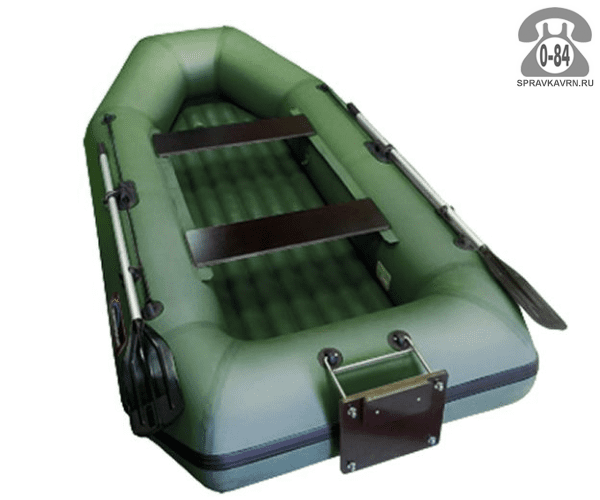 Лодка надувная Hunterboat Хантер 280 ЛТН, зеленый 280052