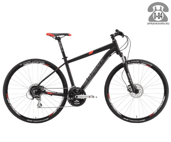 """Велосипед Сильвербэк (Silverback) STRIDE 20 (2016), рама 18.5"""", черный размер рамы 18.5"""" черный"""