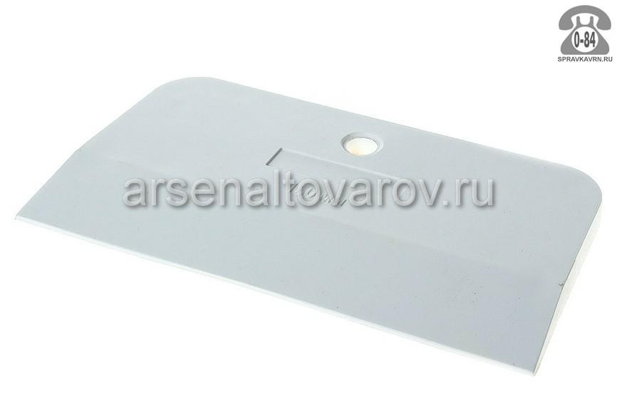 шпатель резиновый 150 мм белый (Россия) (12-2-115)
