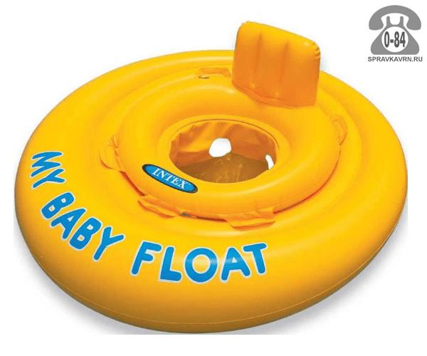 Круг надувной для плавания Интекс (Intex) Аэрошип, 59586