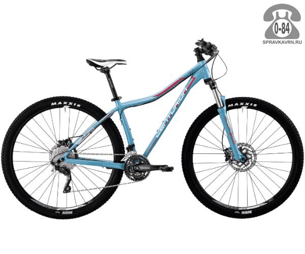 "Велосипед Центурион (Centurion) EVE Pro 400.27 (2017) размер рамы 17.5"" голубой"