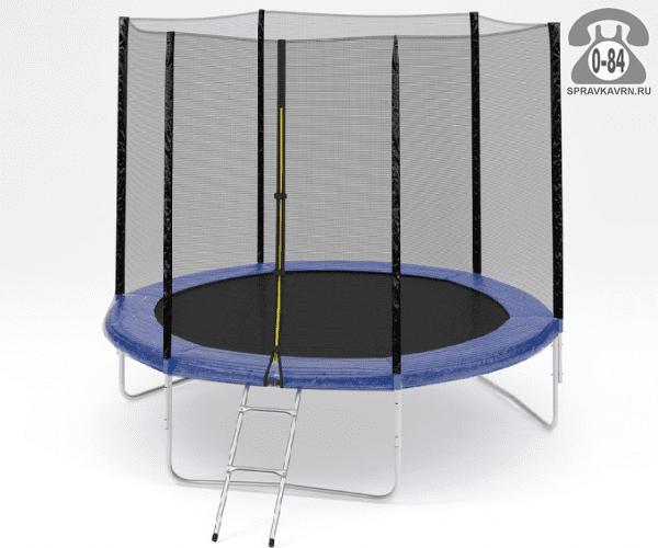 Батут Диамонд Фитнесс (DIAMOND FITNESS) External 8ft (244 см), максимальная нагрузка 150кГ