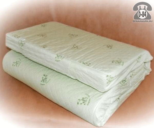 Матрас бамбук + пенополиуретан (ППУ) 190 см 140 см 8 см