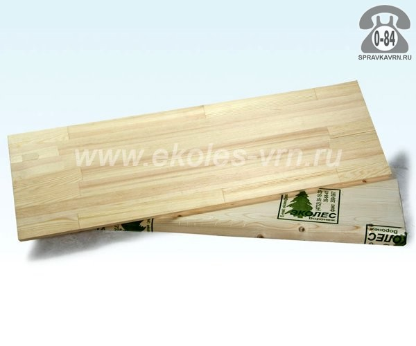 Щиты мебельные 60 мм