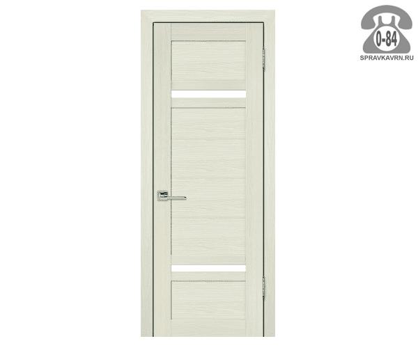 Дверная коробка Топ-Комплект Эко, цвет белый ясень, 2070x74x35мм