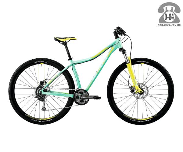 "Велосипед Центурион (Centurion) EVE Pro 100.27 (2017) размер рамы 17.5"" голубой"