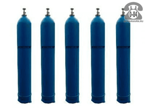 Баллон для газа кислород 40 л металл