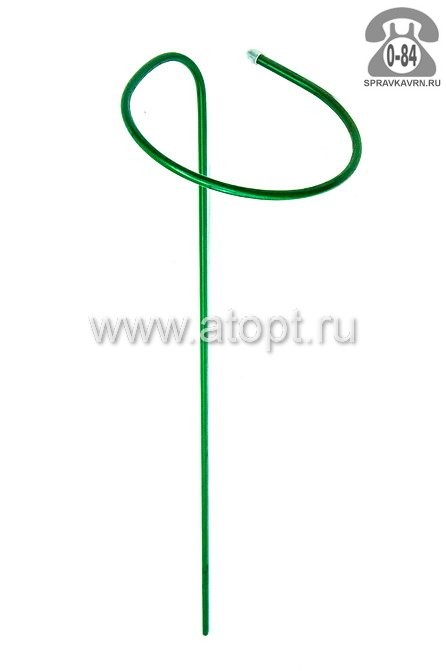 Опора для растений для комнатных металлическая для вьющихся растений труба 0.85 м 10 мм 300 мм Россия