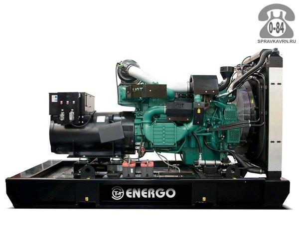 Электростанция Энерго ED 510/400 V двигатель Volva Penta TAD 1641 GE