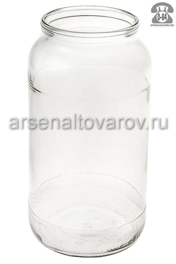 Банка стеклянная СКО-1-82 стандартная 1.35 л