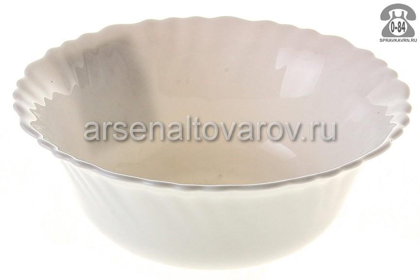 Салатник Даникс (Daniks) Белый LHW60