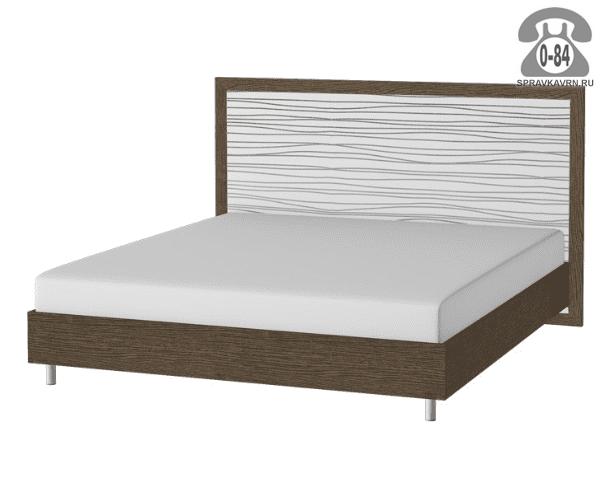 Кровать Палермо 2-спальная 2166х2550 мм
