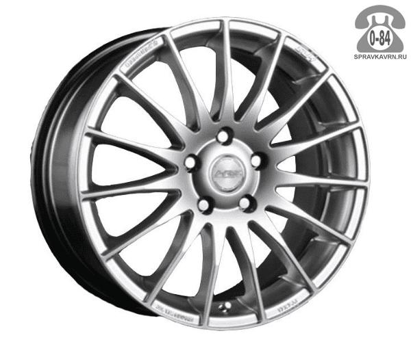 """Диск РВ (Racing Wheels) H-303 15"""" ширина 6.5"""" крепежных отверстий 5 диаметр расположения отверстий 114.3 мм вылет колеса (ET) 40 мм диаметр центрального отверстия 73.1 мм"""