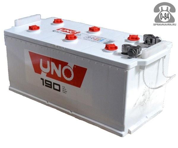 АКБ автомобильная Uno 6СТ-190