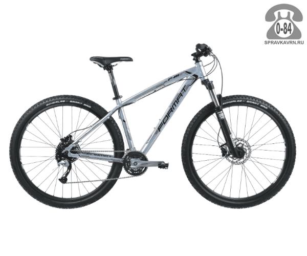 """Велосипед Формат (Format) 1411 29 (2017) размер рамы 21.5"""" серый"""