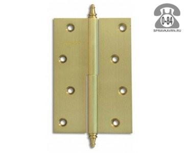 Петля дверная Апекс универсальная латунное