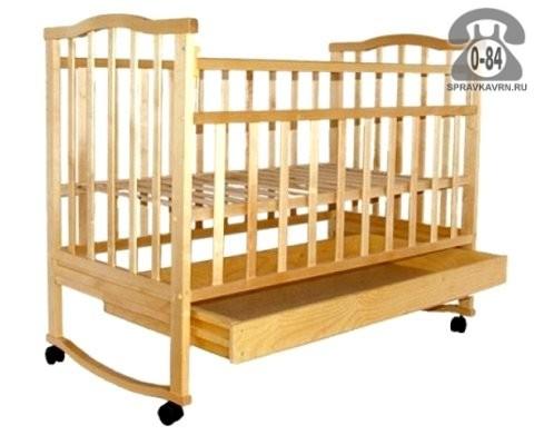 Кроватка Агат Золушка-2, качалка (полозья)