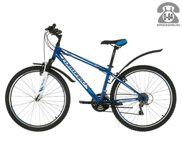 "Велосипед Форвард (Forward) Sporting 1.0 (2017) размер рамы 19.5"" синий"