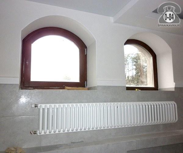 Окно деревянное поворотно-откидное сосна