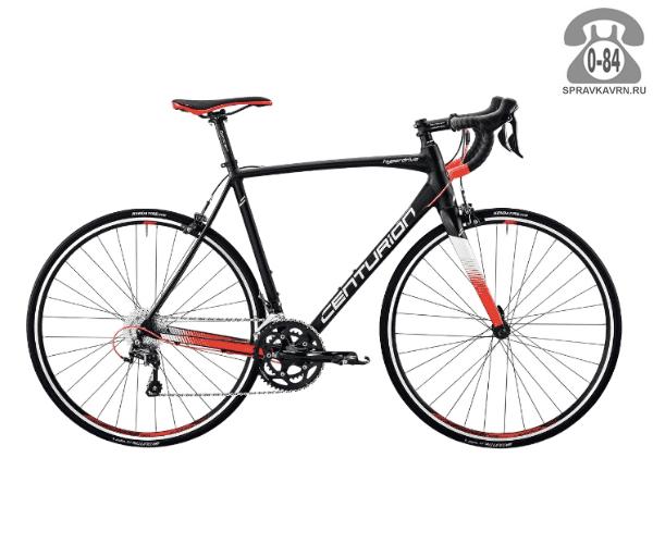 "Велосипед Центурион (Centurion) Hyperdrive 2000 (2017) размер рамы 21"" черный"
