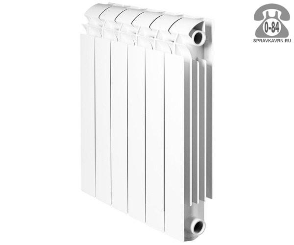 Радиатор отопления Глобал (Global) Исео (ISEO)-500 12 секций