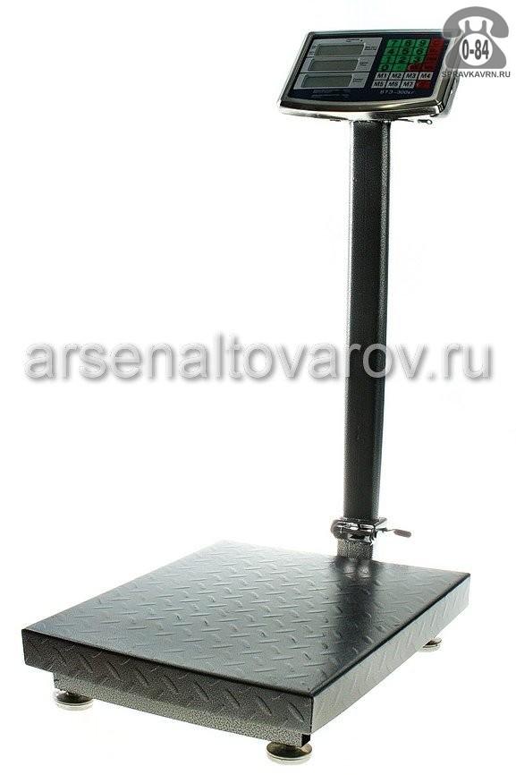 весы торговые электронные до 300 кг счетное устройство Умница ВТЭ-300 (КНР)