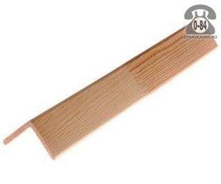 Уголок деревянный универсальный липа 20 мм 20 мм