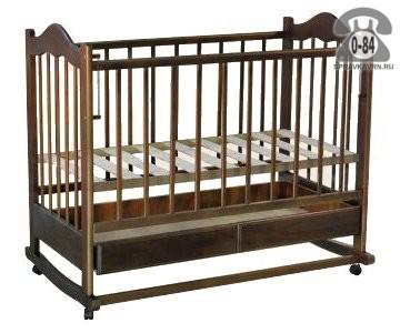 Кроватка Ведрусс Кира 1 (колесо/качалка), качалка (полозья)
