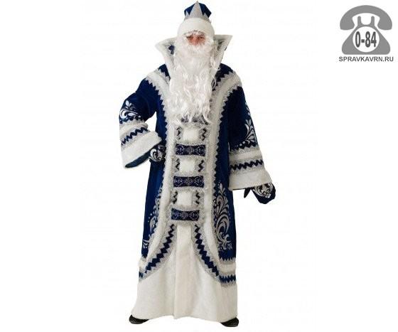 Костюм Дед Мороз Купеческий 54-56 193 Батик