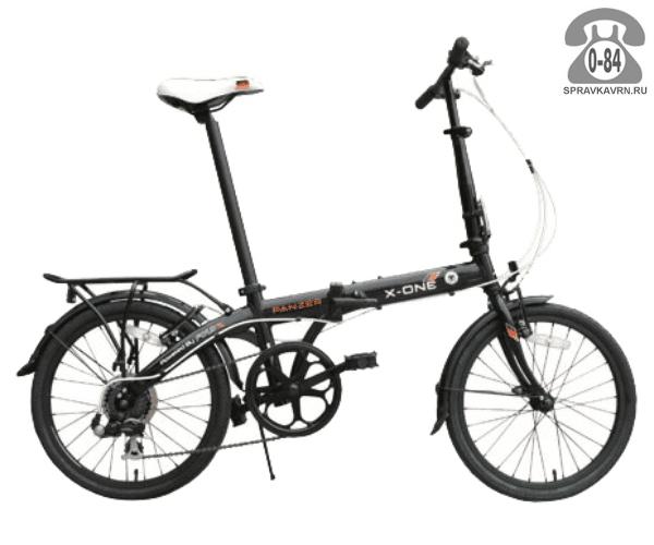 Велосипед Фолдикс (FoldX) World cup (2017) черный