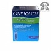 Тест-полоски для глюкометра Уан Тач Селект (One Touch Select) 50 шт.