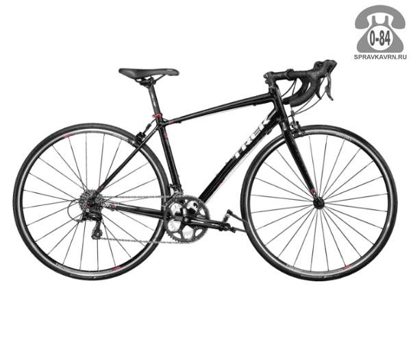 """Велосипед Трек (Trek) Lexa S (2016), рама 21.5"""" размер рамы 21.5"""" черный"""