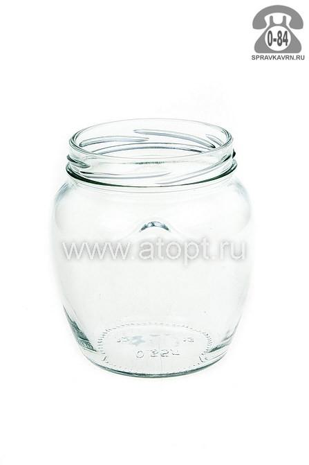 банка стеклянная для консервирования Твист - 82 0,5 л (винтовая крышка) Амфора (Россия)