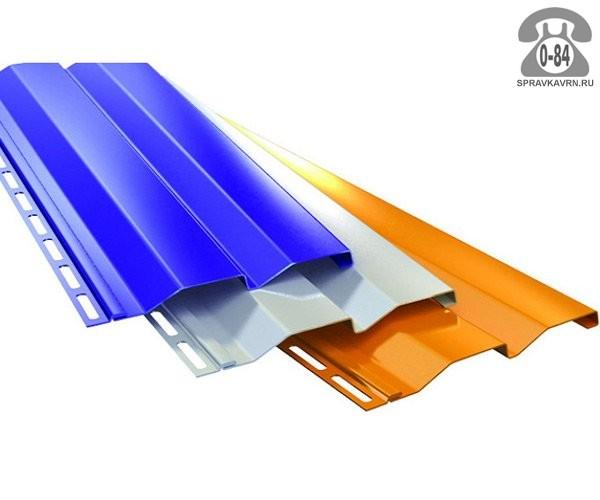 Сайдинг Металл Профиль (МП) корабельная доска металлический (металлосайдинг) полимерное