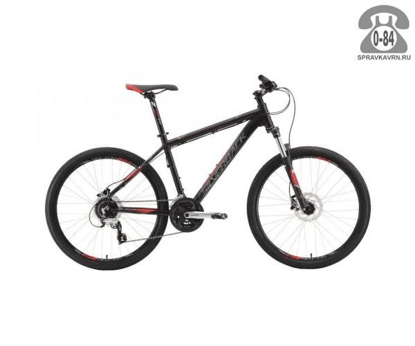 """Велосипед Сильвербэк (Silverback) STRIDE 15 (2016), рама 18.5"""", черный размер рамы 18.5"""" черный"""